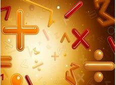 Math PPT Backgrounds - Download free Math Powerpoint Templates Yellow Hearts Wallpaper