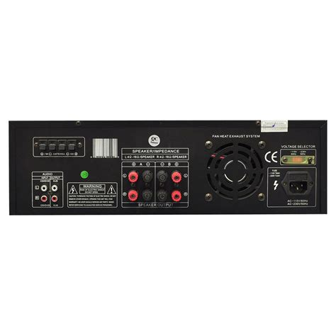 300w dj professional home audio digital stereo 2 channel