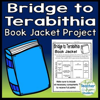 Novel Fantasi Best Seller Bridge To Terabithia bridge to terabithia project create a book jacket a book report activity