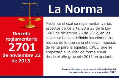 ley 122012 de 26 de diciembre de medidas urgentes de impuesto para la equidad actualidad actualicese com