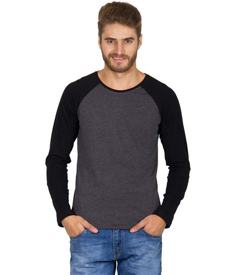 T Shirt Aoe 29 Bv rigo charcoal gray cotton t shirt buy rigo charcoal gray cotton t shirt at low price