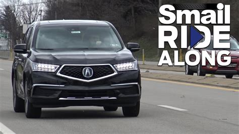 smail acura smail ride along 2017 acura mdx tech review and test