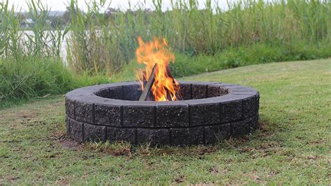 build your own backyard fire pit outdoor living build your own fire pit hills news