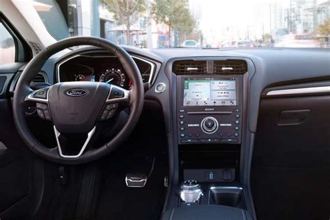 ford fusion 2017 interior 2017 ford 174 fusion sedan photos videos colors 360