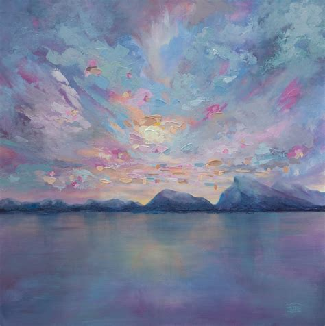 acrylic paint canvas paintings rundle sky 36 215 36 original acrylic landscape painting on
