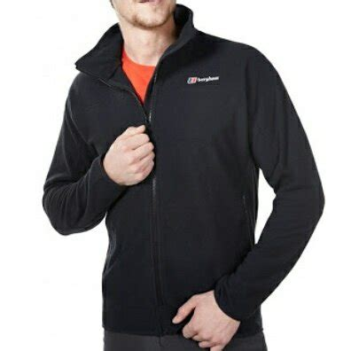 Jaket Pria J535211 Jacket True Black S jual jaket polar fleece big size murah berghaus original