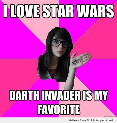 Idiot Nerd Girl Meme - random