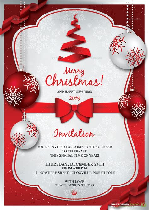 holiday invitation templates free download musicalchairs us