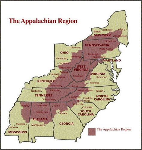 appalachian mountains on us map appalachian mountains location related searches for