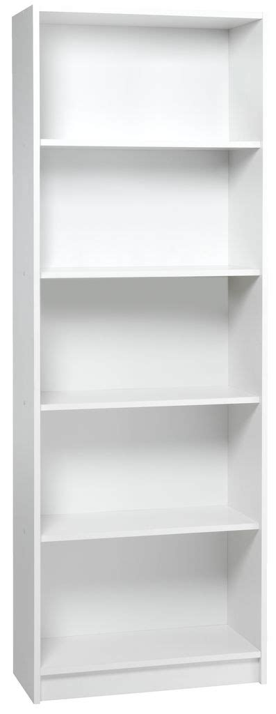 20 Bookcase Bogreol Horsens 5 Hylder Hvid Jysk
