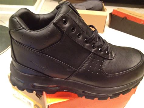 nike boots nike acg goadome boot black nyc gear