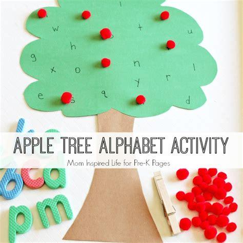 apple tree preschool apple tree alphabet game