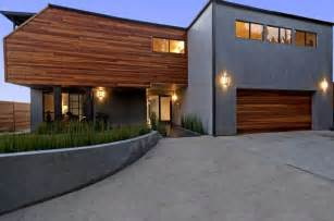 exterior home design options exterior gray stucco wooden modern siding options