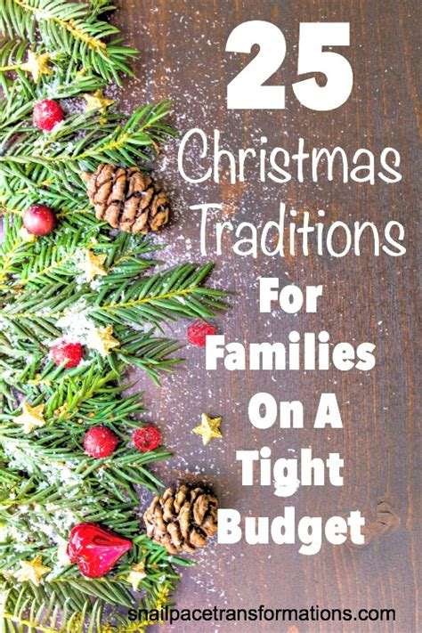 traditions for families 25 traditions for families on a tight budget