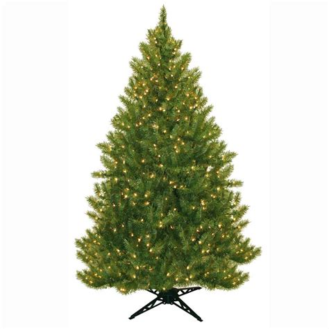 9 ft lighted trees general foam 6 5 ft pre lit carolina fir artificial