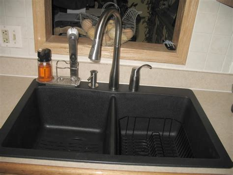 kitchen sink and faucet ideas awesome and beautiful black kitchen sinks faucets home