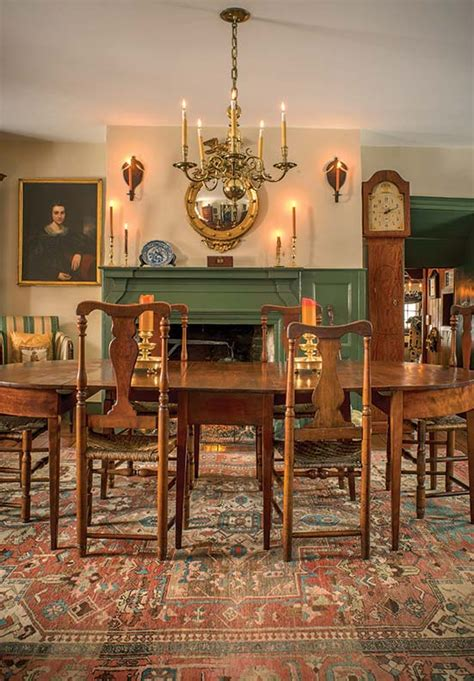 Cherry Dining Room Set An 18th Century Stone House With Patina Old House Online
