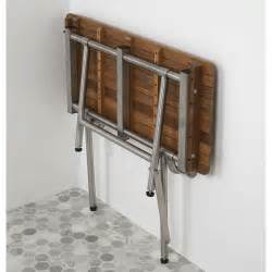 ada showers with seats 24 quot teak ada shower seat with drop legs teakworks4u