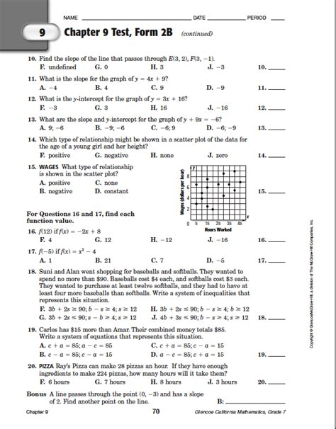 night section 5 answers answer to chapter 9 test form 2b