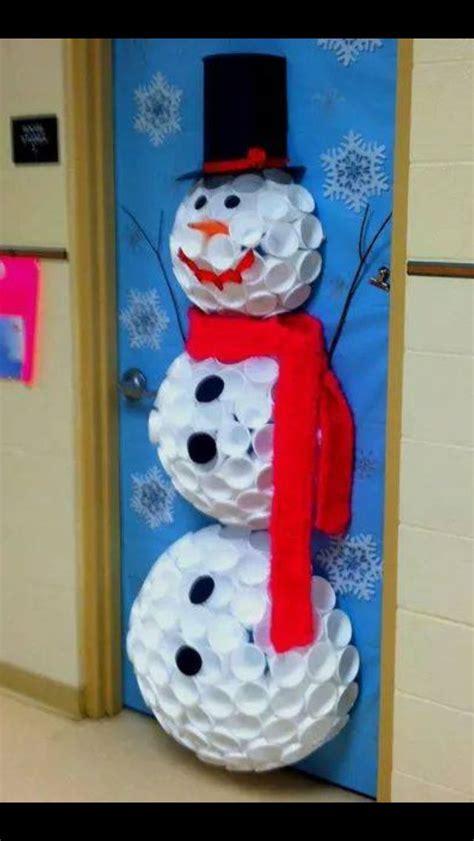 diy santa claus classroom door child door decoration festival collections