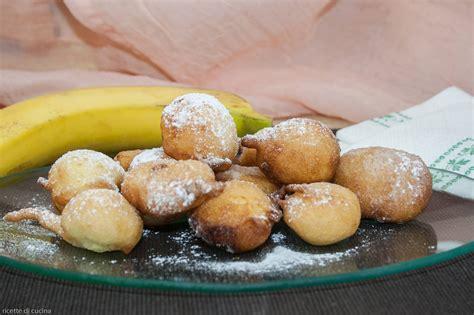 banana da cucina frittelle di banana ricette di cucina