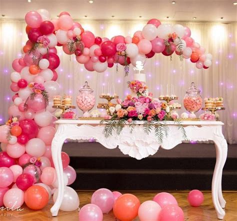 20 Balloon Décor Ideas For A Girl?s Birthday Party   Shelterness
