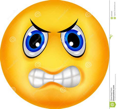 imagenes de emoji enojado emoticon enojado ilustraci 243 n del vector ilustraci 243 n de