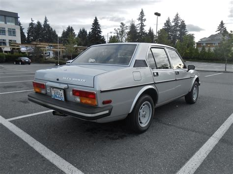 alfa romeo sedan seattle s parked cars 1979 alfa romeo alfetta sport sedan