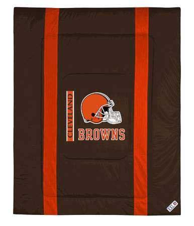 cleveland browns comforter cleveland browns side lines comforter