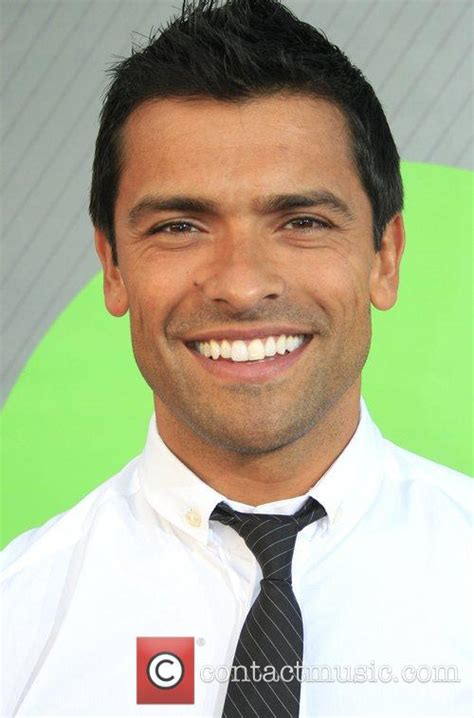 mark hton picture mark consuelos at beverly hilton hotel photo