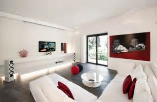 living white room: the interior layout was rethought and a number of windows were opened