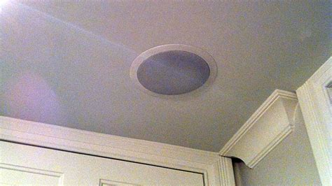install ceiling speakers and enjoy throughout your home
