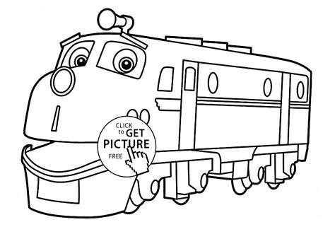 chuggington coloring train pages chuggington coloring pages wilson for kids printable free