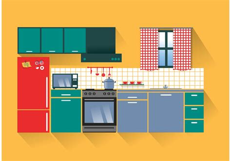 design a kitchen online without downloading modern kitchen vector download free vector art stock