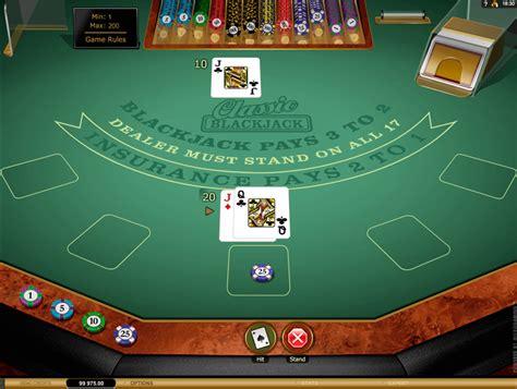 play classic blackjack gold  microgaming  blackjack games