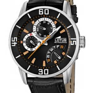 Lotus And Co Montre L15798 5 Lotus Noir Montres And Co