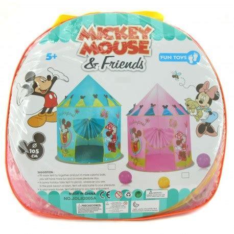 Tenda Frozen Fever Dan Disney Princess Tent mickey mouse and friends tent happy toko mainan jual mainan anak