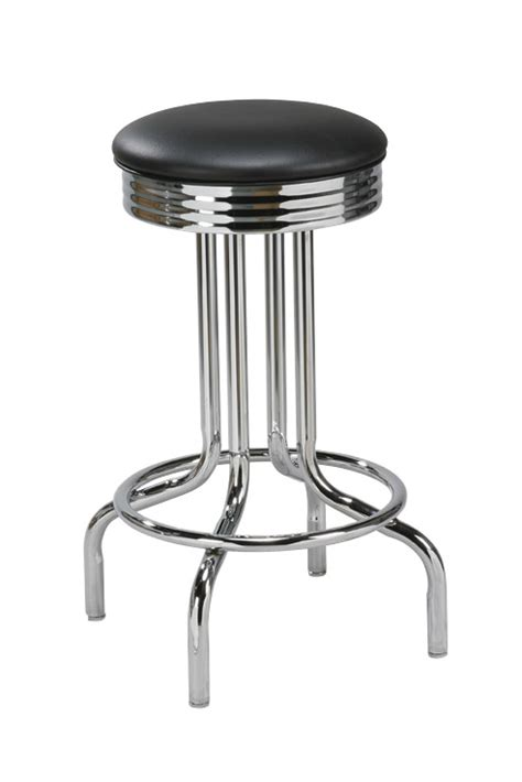 commercial backless bar stools regal seating model 3107 commercial 50 s style backless