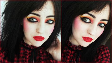 tutorial makeup romantic new romantic makeup tutorial youtube