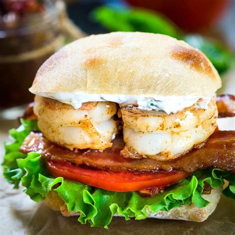 best sandwich recipes most amazing shrimp blt sandwich recipe hostess at