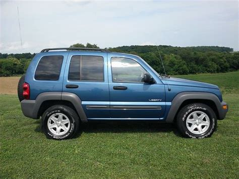 04 Jeep Liberty Find Used 04 Jeep Liberty 4x4 Sharp Runs Excellent
