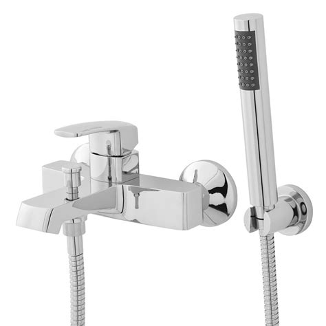 wall mounted bath shower mixer taps hudson reed bath shower mixer with shower kit now