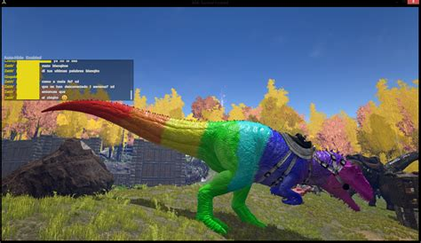 ginx s colorful dinos creative chat ark official community forums