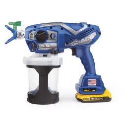 graco ultra cordless handheld airless sprayer from