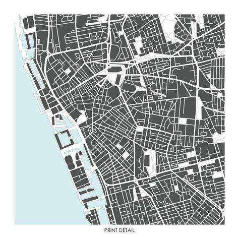 printable street map liverpool liverpool map art print limited editon by bronagh kennedy