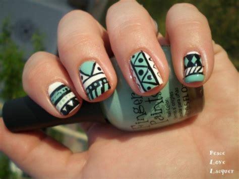 imagenes de uñas tribales hermosos dise 241 os tribales para u 241 as aquimoda com