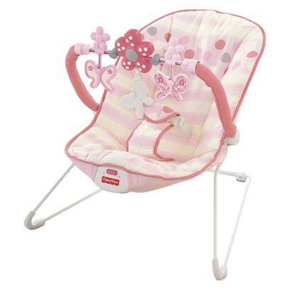 Bouncer Butterfly pink butterfly bouncers and babies on