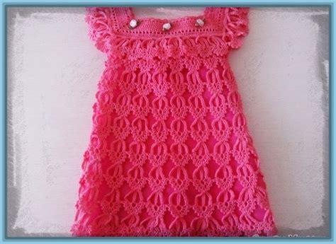 vestidos para bebes de tejido vestido tejido a crochet para bebe de 6 meses archivos