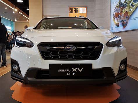 subaru xv malaysia 2017 all subaru xv launched in malaysia autoworld com my