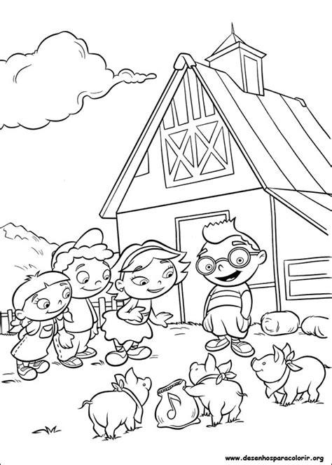 bunnytown coloring page agosto 2013 imagens para colorir